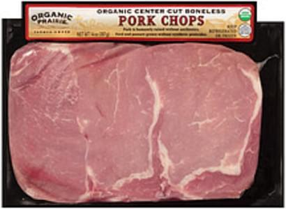 Organic Prairie Pork Chops Organic Center Cut Boneless