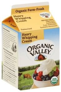 Organic Valley Heavy Whipping Cream