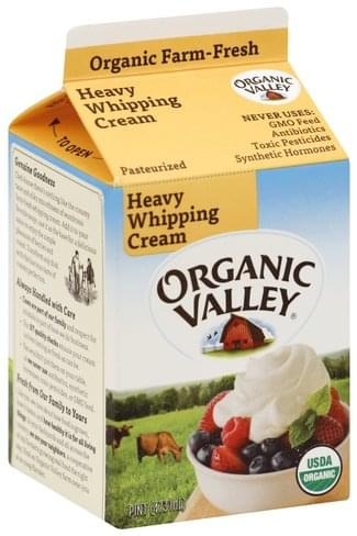 Organic Valley Heavy Whipping Cream - 1 pt