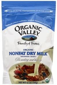 Organic Valley Dry Milk Nonfat, Organic