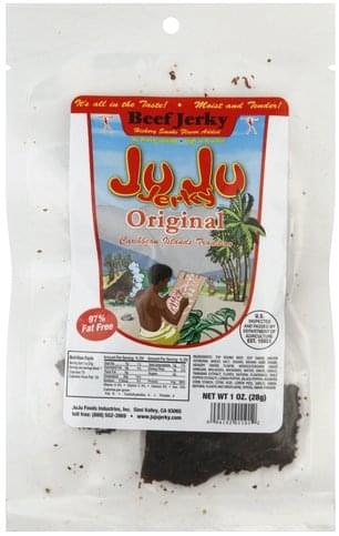 Ju Ju Jerky Original Beef Jerky - 1 oz
