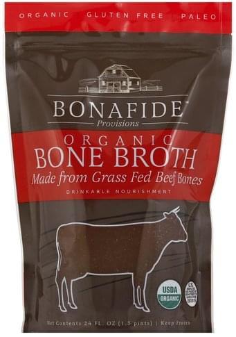 Bonafide Provisions Organic, Beef Bone Broth - 24 oz