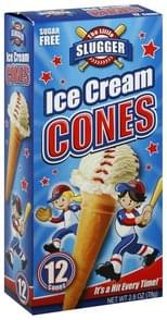 Little Slugger Ice Cream Cones Sugar Free