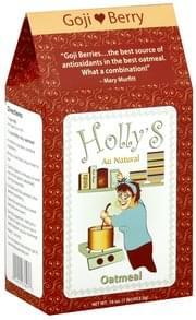 Hollys Oatmeal Goji Berry