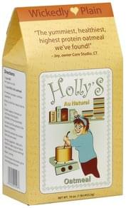 Hollys Oatmeal Wickedly Plain