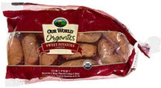 Our World Sweet Potatoes Organics