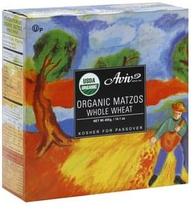 Aviv Matzos Organic, Whole Wheat