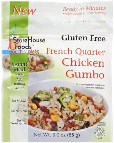 StoreHouse Foods French Quarter Chicken Gumbo - 3 oz
