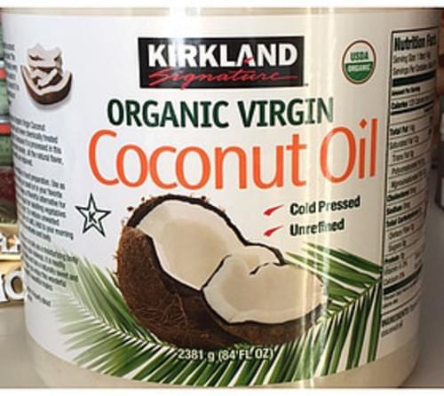 Kirkland Signature Organic Virgin Coconut Oil - 14 g