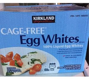 Kirkland Signature Cage-Free Egg Whites