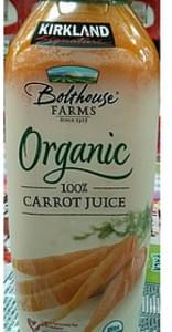 Kirkland Signature Bolthouse Farms Organic Carrot Juice
