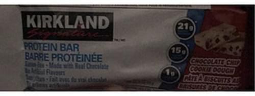 Kirkland Signature Chocolate Chip Cookie Dough Protein Bar - 60 g