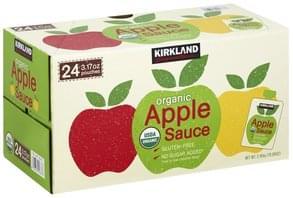 Kirkland Apple Sauce Organic