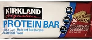 Kirkland Signature Protein Bar Chocolate Chip Cookie Dough