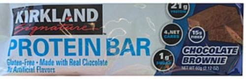 Kirkland Signature Chocolate Brownie Protein Bar - 60 g