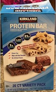 Kirkland Signature Protein Bar Chocolate Chip Cookie Dough