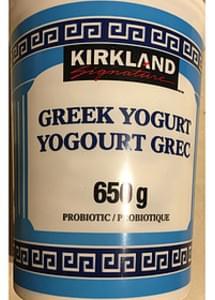 Kirkland Signature Greek Yogurt Probiotic