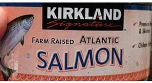Kirkland Signature Farm Raised Atlantic Salmon Canned