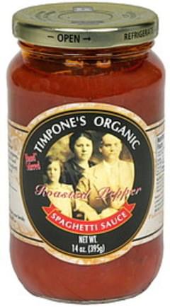 Timpones Spaghetti Sauce Roasted Garlic