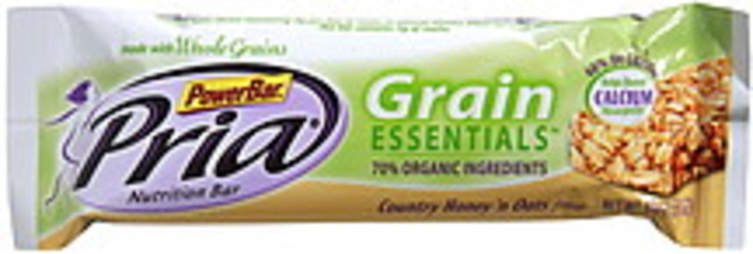 Pria Country Honey 'n Oats Flavor Nutrition Bar - 1.58 oz