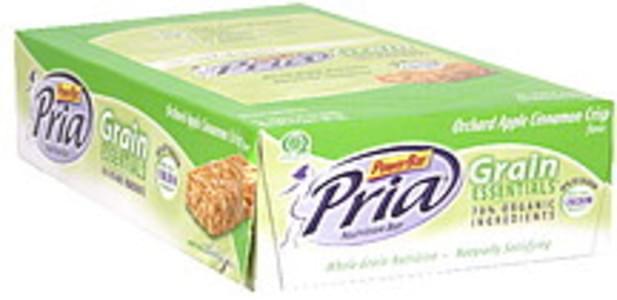 Pria Nutrition Bars Orchard Apple Cinnamon Crisp