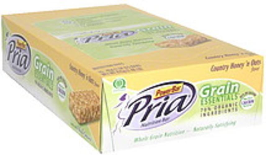 Pria Country Honey 'n Oats Nutrition Bar - 15 ea