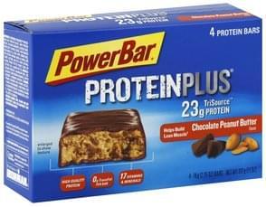PowerBar Protein Bars Chocolate Peanut Butter Flavor