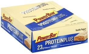 PowerBar High Protein Bars Vanilla Yogurt Flavor