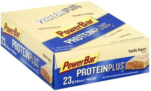 PowerBar Vanilla Yogurt Flavor High Protein Bars - 12 ea