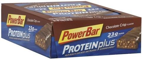 PowerBar Chocolate Crisp High Protein Bar - 12 ea