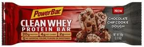Powerbar Protein Bar Chocolate Chip Cookie Dough Flavored