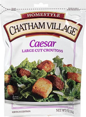 Chatham Village Caesar Large Cut Croutons - 5 oz
