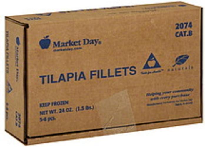 Market Day Tilapia Fillets - 24 oz