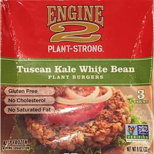 Engine 2 Plant-Strong Plant Burgers Tuscan Kale White Bean
