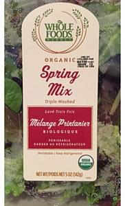 Whole Foods Market Spring Mix