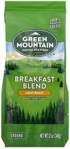 Light Roast, Breakfast Blend Coffee