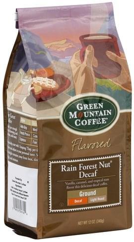 Light Roast, Rain Forest Nut
