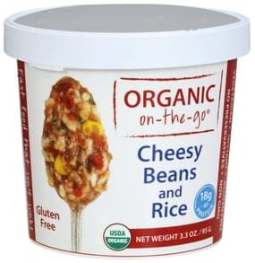 Organic on the go Cheesy Beans and Rice