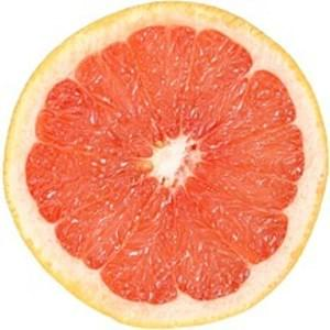 USDA Grapefruit  raw  pink and red