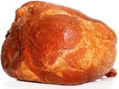 USDA Pork  fresh  leg (ham)  rump half  separable lean and fat