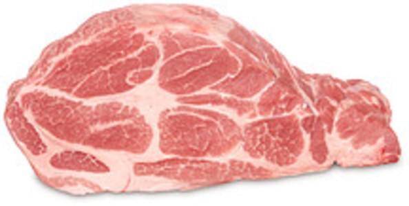 USDA Pork  fresh  shoulder  arm picnic  separable lean and fat