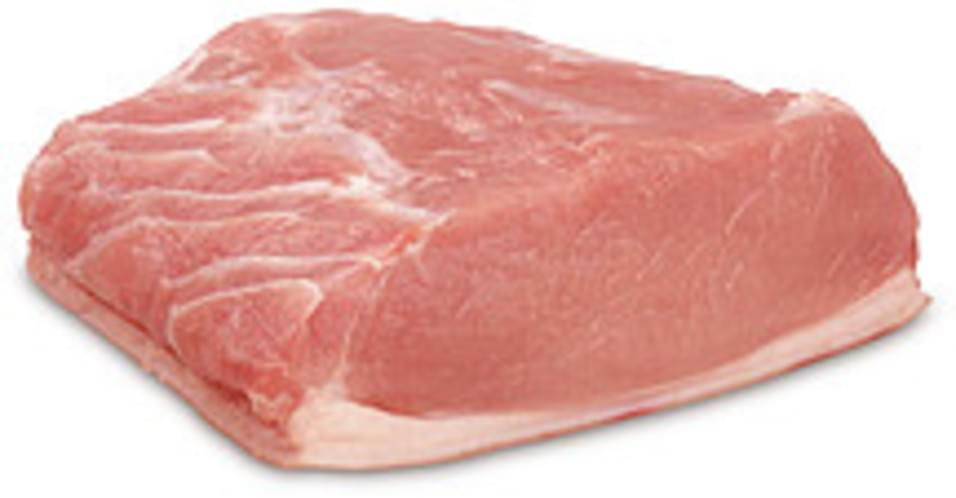 USDA  fresh  loin  sirloin (chops or roasts)  boneless  separable lean and fat Pork - 4 oz