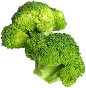 USDA Broccoli  flower clusters