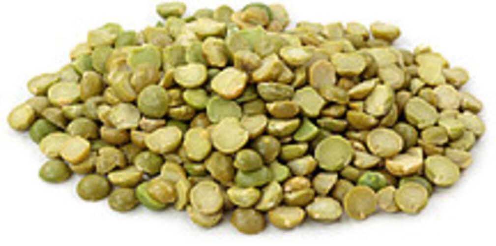 USDA  green  split  mature seeds Peas - 1 c
