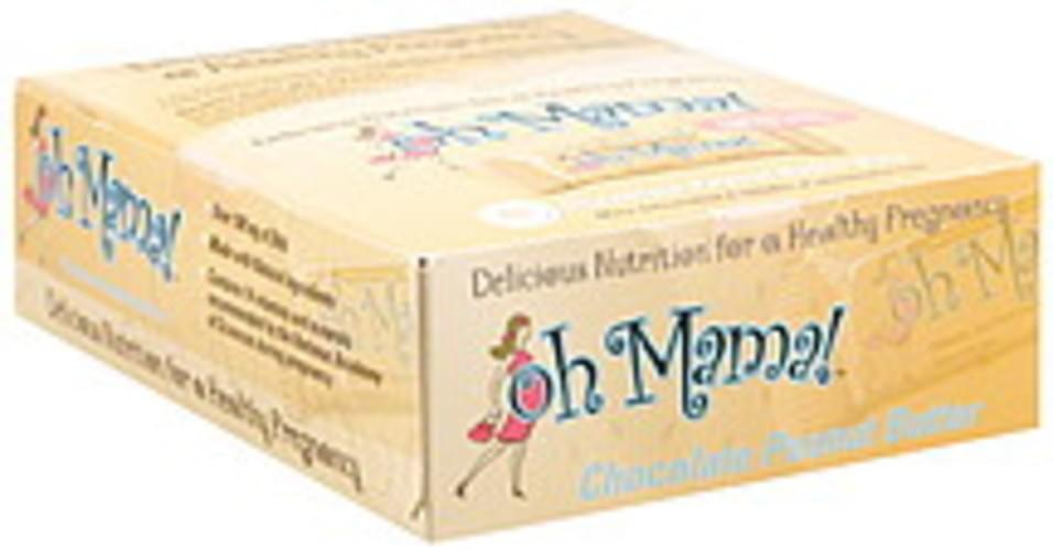 Oh Mama Chocolate Peanut Butter Bars - 15 ea