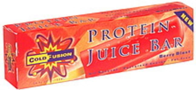 Cold Fusion Protein Juice Bar Berry Blast