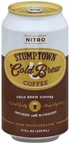 Stumptown Cold Brew Nitro Coffee 11 Oz Nutrition Information Innit