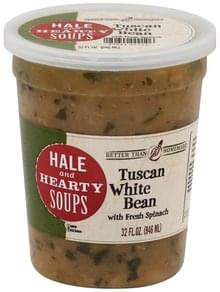 Better than Homemade Soup Hale and Hearty, Tuscan White Bean