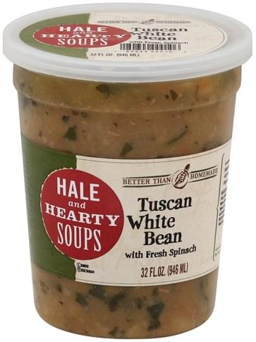 Better than Homemade Hale and Hearty, Tuscan White Bean Soup - 32 oz