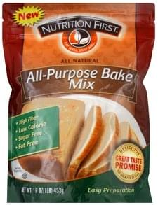 Nutrition First Bake Mix All-Purpose